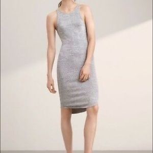 Wilfred cut out back dress super soft